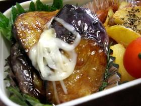 お弁当に✿絶品!なすの照り焼