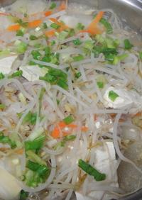 豚肉と野菜のおろし煮