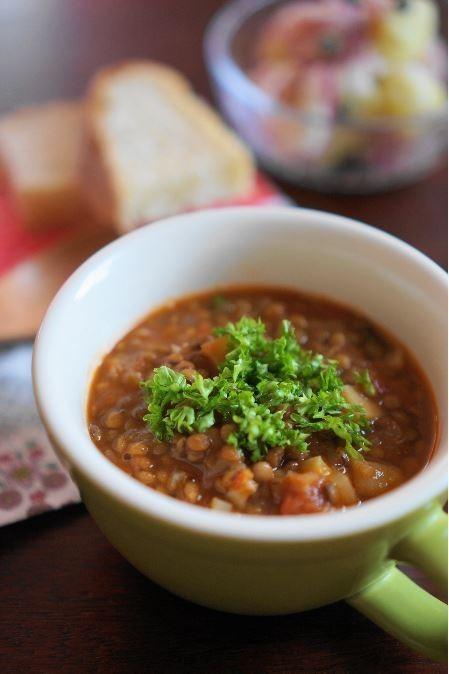 スウェーデン・レンズ豆のスープ