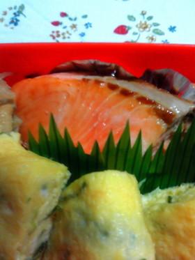 お弁当に重宝☆焼き鮭の冷凍保存