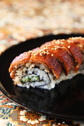 ニクソン・ロール(鰻の巻き寿司...