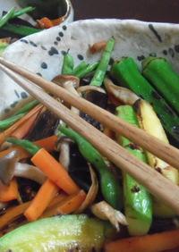 焼き野菜のつゆだくおひたし