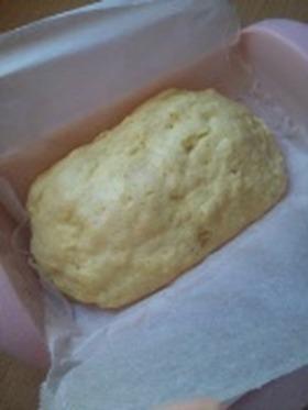 ルクエでバナナ蒸しパン♪ノンオイル