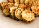 ズッキーニのふんわりチーズ風味天ぷら
