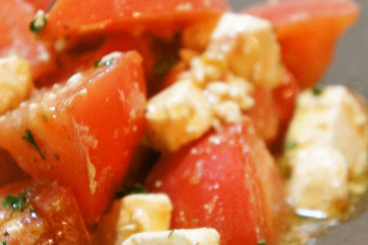 サラダ レシピ 人気 トマト