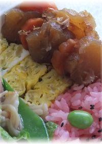 お弁当に★レンジde簡単大根煮