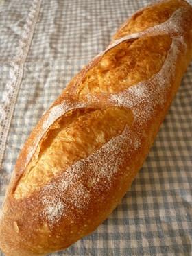 手順写真付☆目指せ☆お店のフランスパン