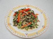 焼き豚と野菜のマヨ醤油酢和えの写真