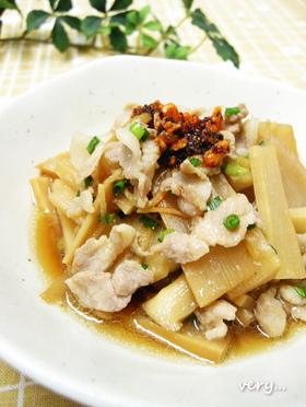 クック膳レシピ★メンマと豚肉の中華風煮
