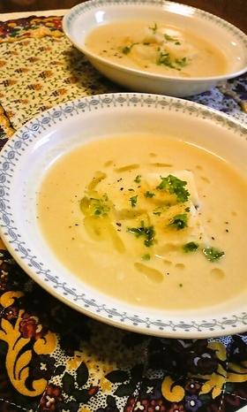 トルコの家庭料理☆ひよこ豆のタヒンスープ