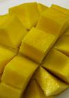 マンゴーの切り方とひえひえマンゴーミルク