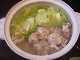 スープを楽しむ☆博多の水炊き