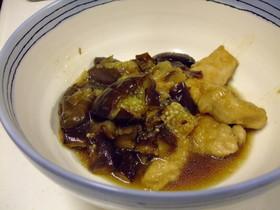 ナスと鳥胸肉のさっぱりお酢煮