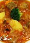 牛スジのトマト煮
