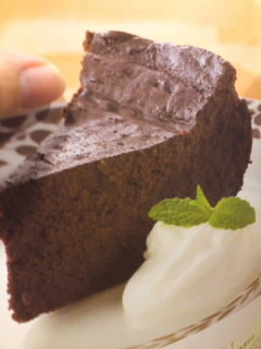 炊飯器で作るチョコレートブラウニー