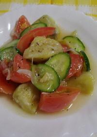 夏野菜のサラダ♪