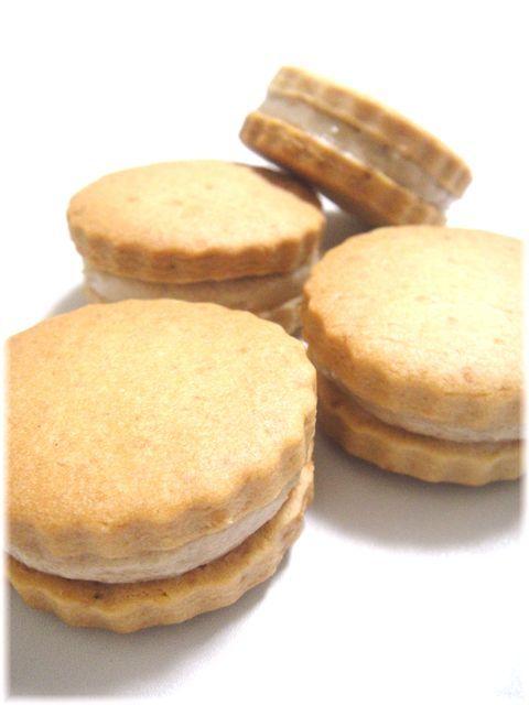 *マロンクリームサンドクッキー*