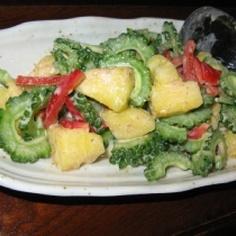 ゴーヤのカラフルのサラダ