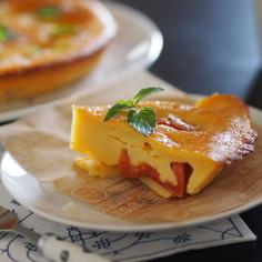 トマトのヨーグルトケーキ