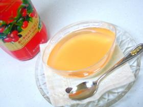 アセロラ杏仁豆腐