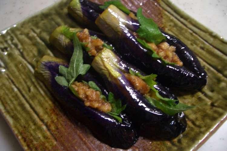 茄子 レシピ 小