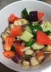 夏野菜のさっぱりマリネ風♪