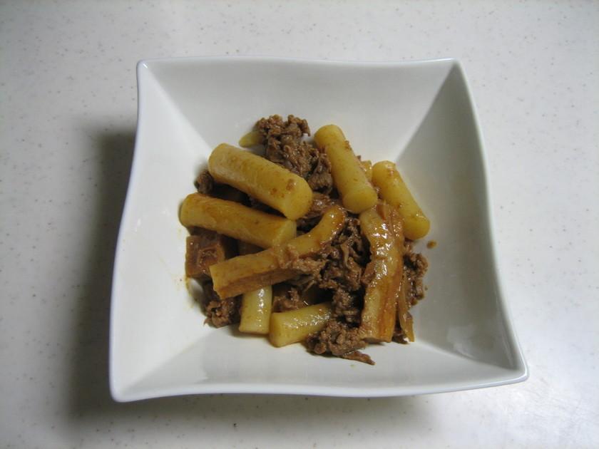 韓国餅の煮込