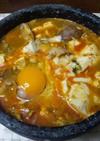 韓国の家庭料理 石焼きスンドゥブ