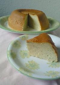 炊飯器deバナナシフォンケーキ