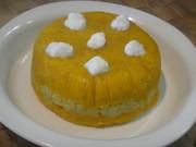 ハーフバースデイケーキ(離乳食)の写真