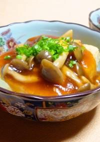 ✿中華風♪あんかけ揚げ豆腐✿