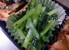 お弁当シリーズ♪小松菜のゴマ和え☆