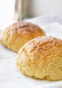 メープルシロップ♪メロンパン