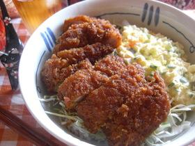 ソースチキンカツ丼★タルタルソース添え