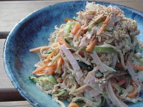 レンジdeかんたん切干大根のサラダ