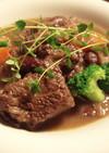 牛肉と豆の煮込み