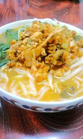 ダイエットに簡単♪白滝の担担麺(坦々麺)