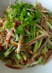 韓国風ポン酢で素麺♪