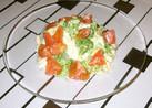 簡単♪ブロッコリートマトのマヨ卵サラダ