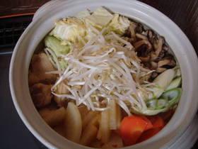★豆乳味噌チゲ鍋★