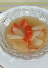 冬瓜&カニカマのスープ*冷やし鉢