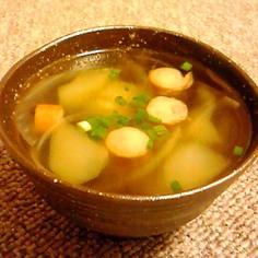 むくみスッキリ!冬瓜のコンソメスープ