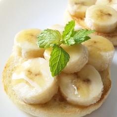 メープル冷凍バナナ*トースト