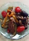バルサミコ酢で焼きマリネ