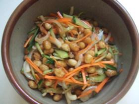 カレー風味☆大豆の南蛮漬け