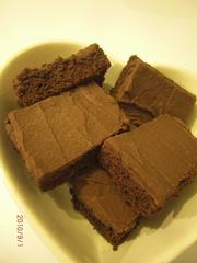 簡単☆チョコレートファッジブラウニー☆の写真