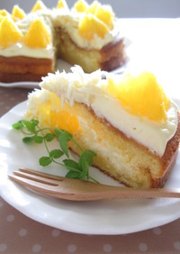 オレンジハニーケーキ