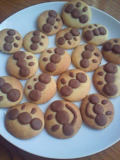 材料4つ★アンパンマンクッキー