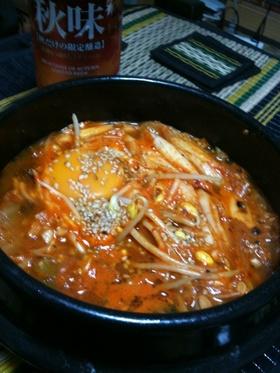 韓国風 納豆チゲ(チョングッジャン)