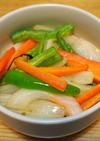 あまった野菜でクレイジーソルト炒め